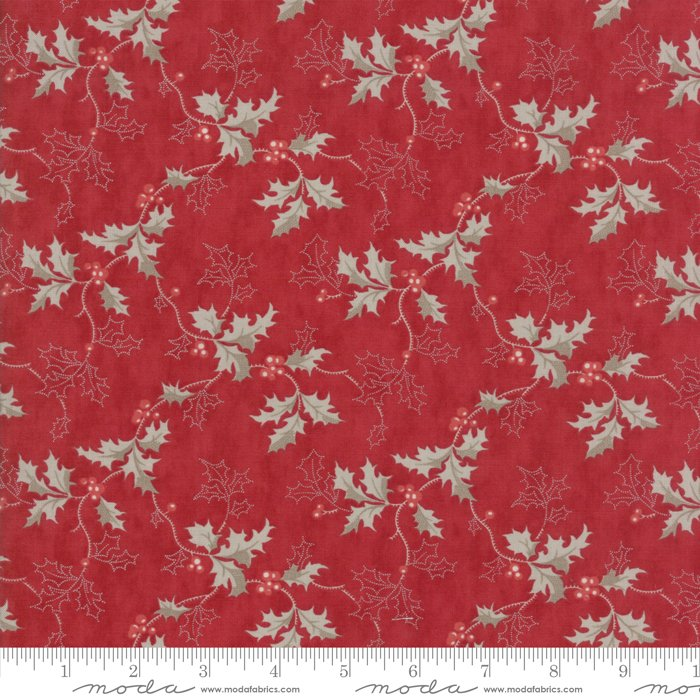 Moda Fabrics - Holly Woods by 3 Sisters - 44172 17 Berry Holly