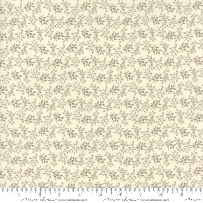 Moda Fabrics - Holly Woods by 3 Sisters - 44175 11 Floret in Snow