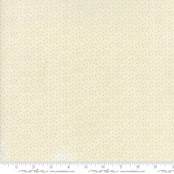Moda Fabrics - Holly Woods by 3 Sisters - 44177 11 Snowflakes - Snow