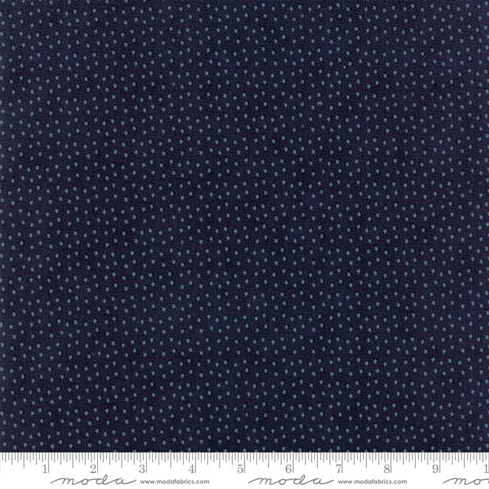 Moda Fabrics - Holly Woods by 3 Sisters - 44177 16 Midnight Snowflakes