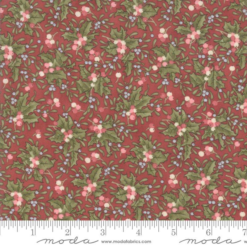 Moda - Marches de Noel 44234 12 Crimson Holly Berries