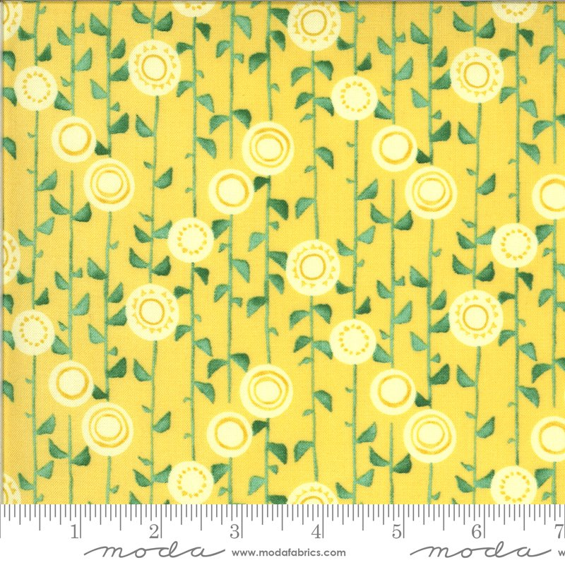 Moda - Solana 48683 13 Sun Stalks - Buttercup Yellow