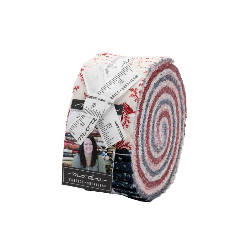 Moda American Gatherings JELLY ROLL 49120JR - Contains 40 assorted strips