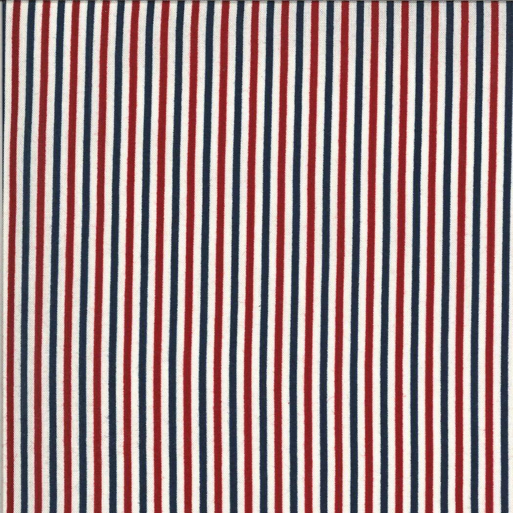 Moda American Gatherings 49121 11 Multi Stripe by Primitive Gatherings