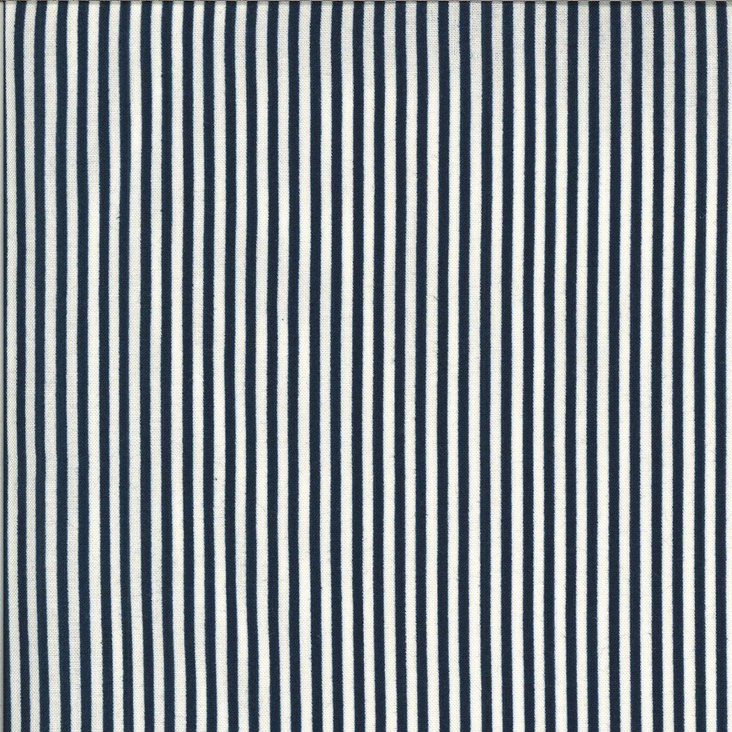 Moda American Gatherings 49121 13 Navy Stripe by Primitive Gatherings