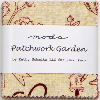 Patchwork Garden Mini Charm Pack by Kathy Schmitz for Moda - 6060MC