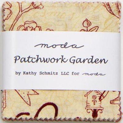 Patchwork Garden Mini Charm Pack by Kathy Schmitz for Moda - 6060MC
