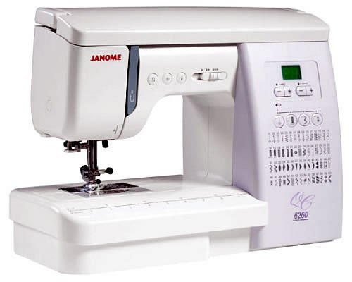 Pre-Owned Janome 6260 QC Quilters Companion with Bonus Quilting Feet