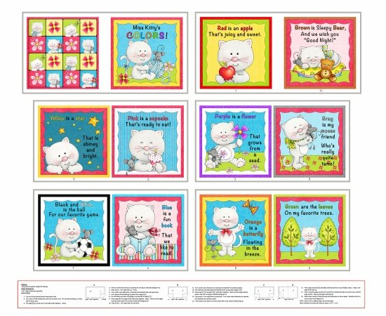 Henry Glass - Colors Little Readers 6416P-21 PANEL BOOK