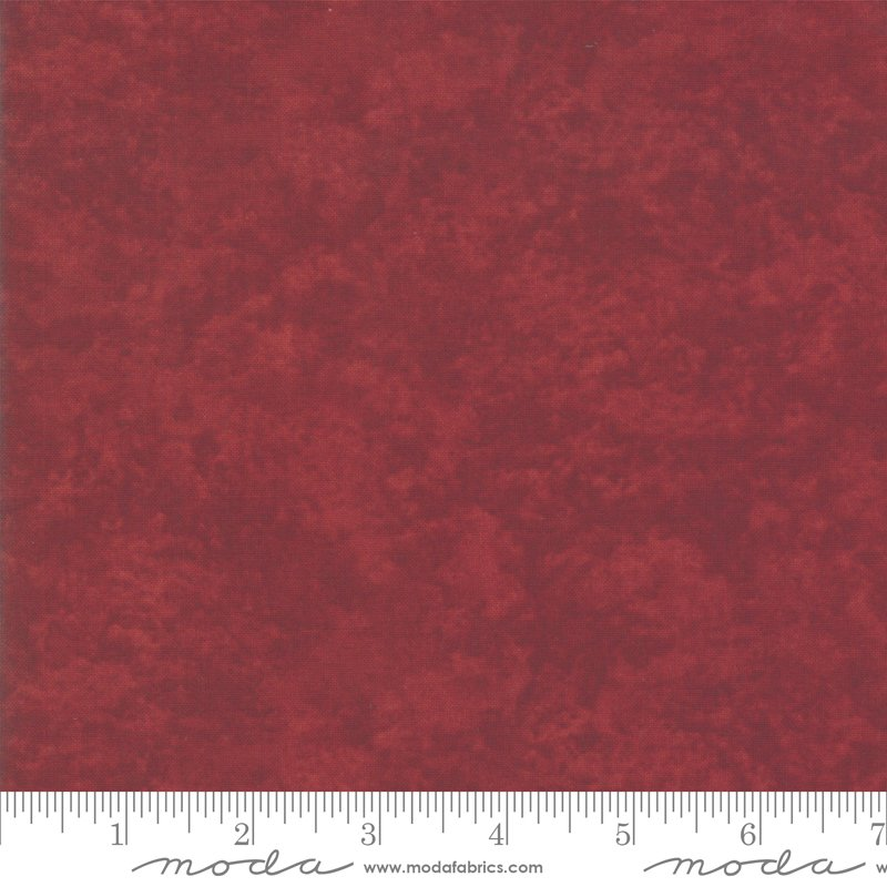 Moda Winter White: 6538 211 Crimson Marble Tonal by Holly Taylor