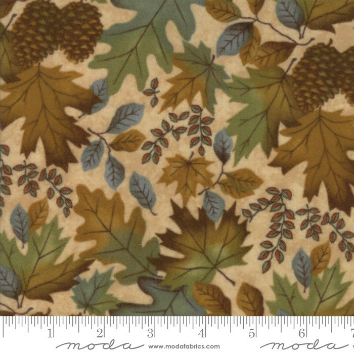 Moda Fall Impressions Flannel by Holly Taylor | 6701 11F Sesame