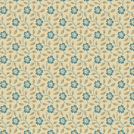 Andover - Something Blue by Edyta Sitar Laundry Basket Quilts A-8830-N