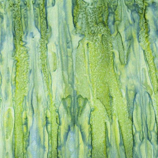 Andover - A Splash of Color Batik AB 8682-G Tinted Avocado