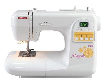 Janome Magnolia 7360 Computerized Sewing Machine