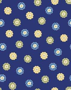 Benartex - Arabella 4189-55 MINI BLUE