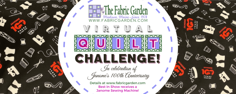 Virtual Quilt Challenge presented by The Fabric Garden