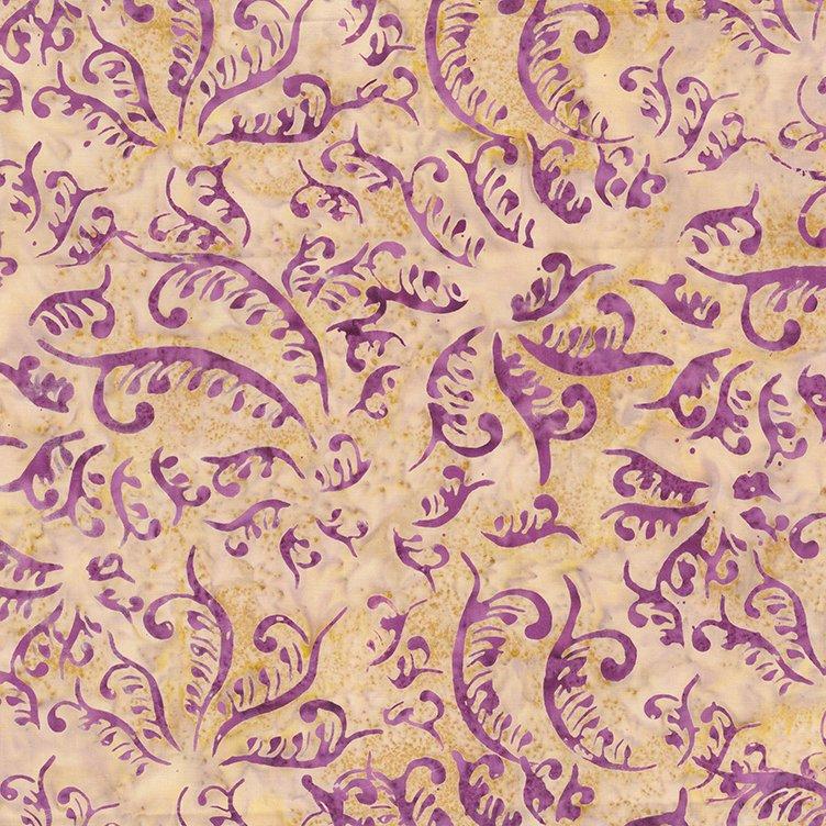 Stardust Batik 80494 32 Purple Amethyst by Banyan Batik Studio Northcott