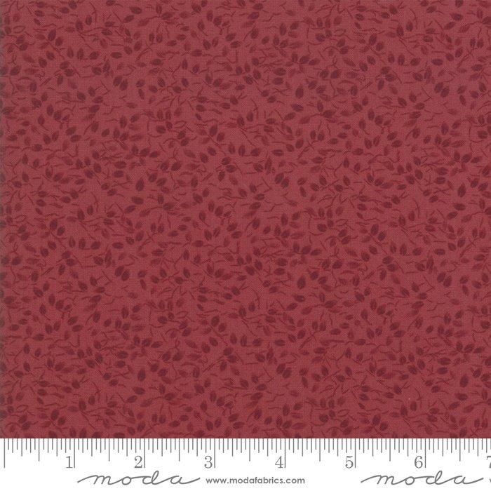 Moda - Kansas Troubles Favorites 9602 13 Red Blender Leaves