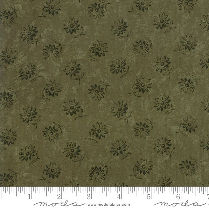 Moda - Kansas Troubles Favorites 9604 15 Green Sunflower Song