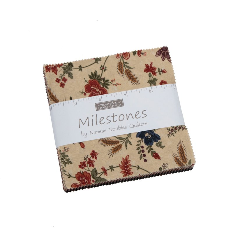 Moda | Milestones 9610PP Charm Pack by Kansas Troubles Quilters