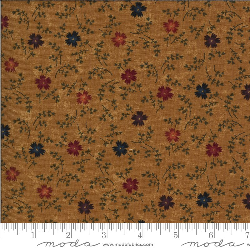 Moda | Bittersweet Lane Goldenrod 9642 12 by Kansas Troubles Quilters