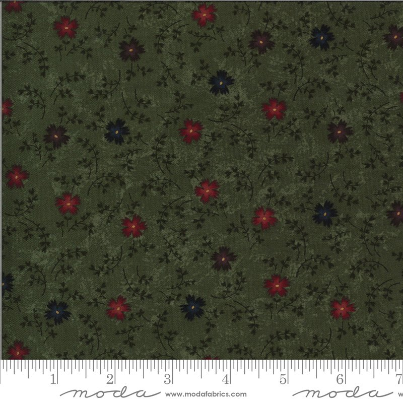 Moda   Bittersweet Lane Leaf 9642 15 by Kansas Troubles Quilters
