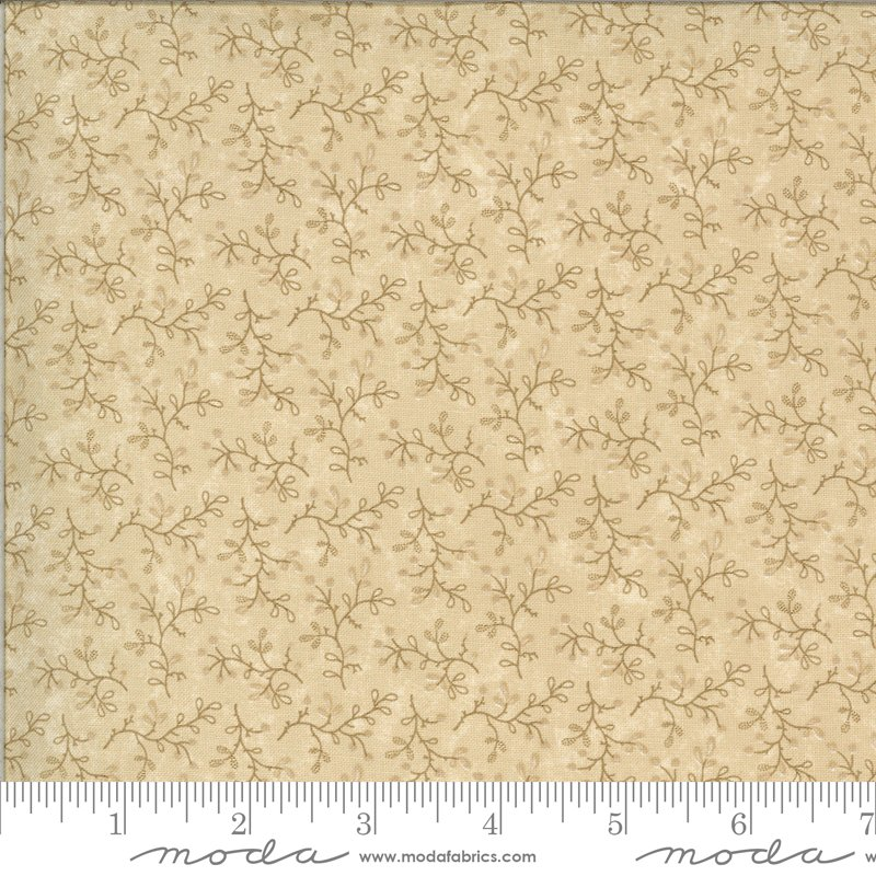 Moda | Bittersweet Lane Tonal Sand 9643 21 by Kansas Troubles Quilters
