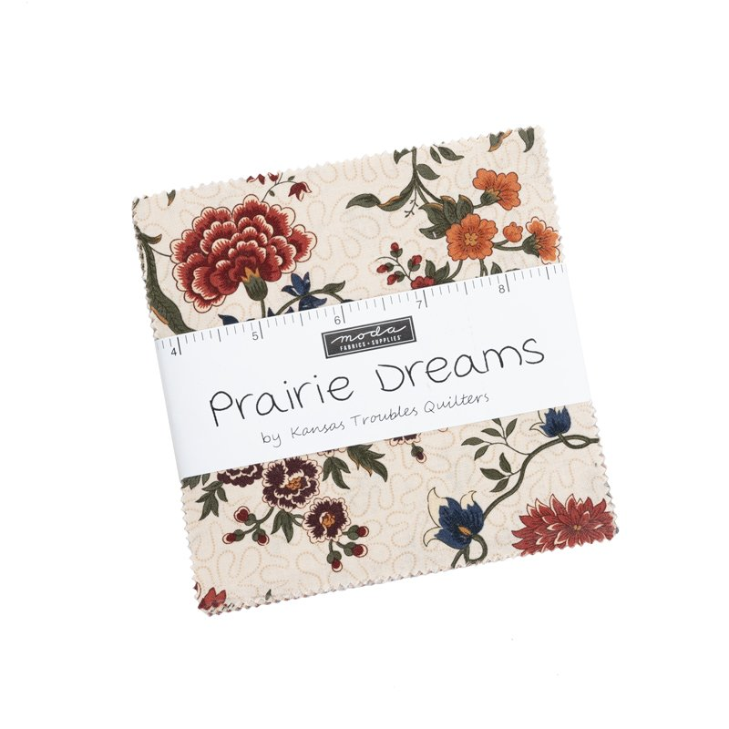 Moda Prairie Dreams CHARM PACK by Kansas Troubles Quilters - 42 squares