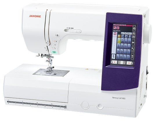 Janome Memory Craft 9850 Sewing Embroidery Quilting Machine - SHIPPED or Pick-up