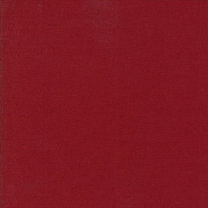Moda | Bella Solids - Kansas Red 9900 150