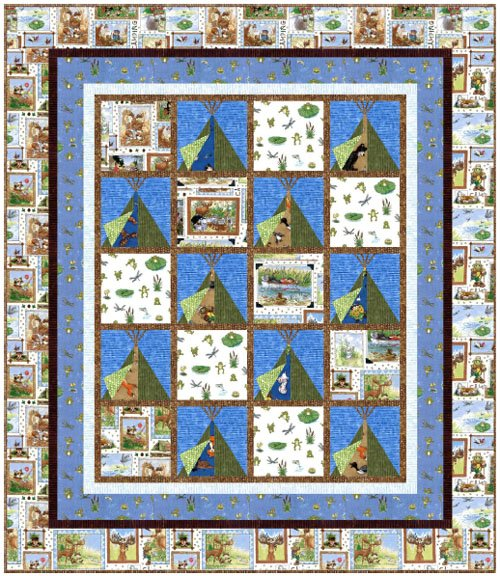 Camping We Will Go Quilt Kit : camping quilt - Adamdwight.com