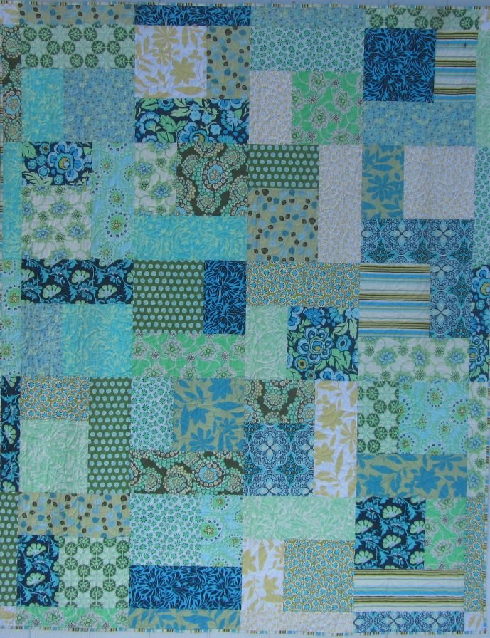 Quilt for Sale:  Turning 20 featuring Amy Butler fabrics