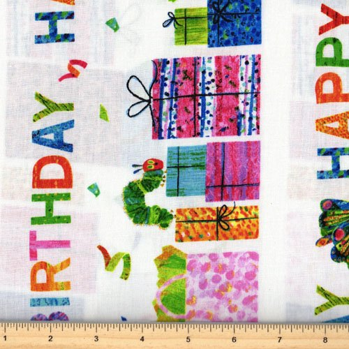Andover Happy Birthday by Eric Carle A 5875-M