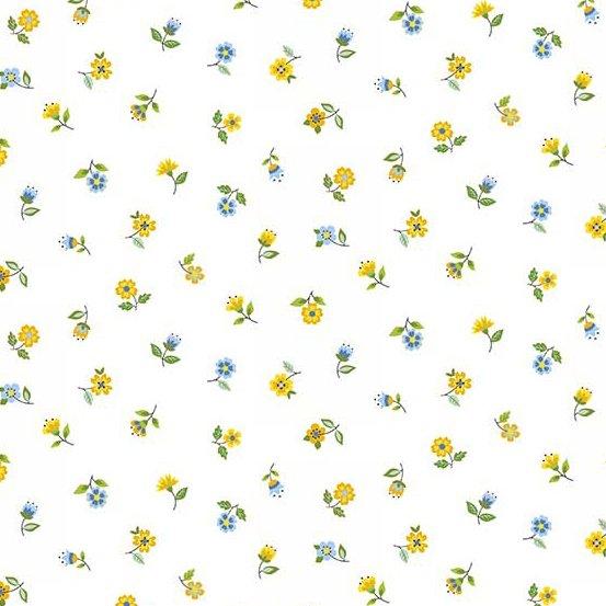 Andover - Bloom : Blue Floral Scatter TP-2032-B