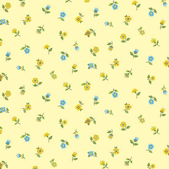 Andover - Bloom : Yellow Floral Scatter TP-2032-Y
