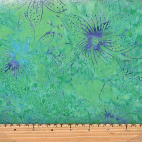 Benartex Rainbow Bright Batik Fabric 03685-48