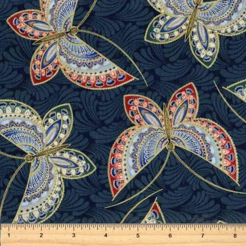 Benartex Butterfly Fandango 1462M-58