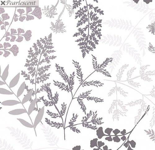 Kanvas - Midnight Pearl 7879P 09 Midnight Fern White Pearlescent