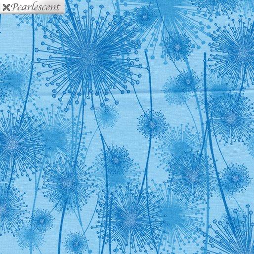 Kanvas - Pearl Reflections 8459P 54 Dandelion Fields Light Peacock