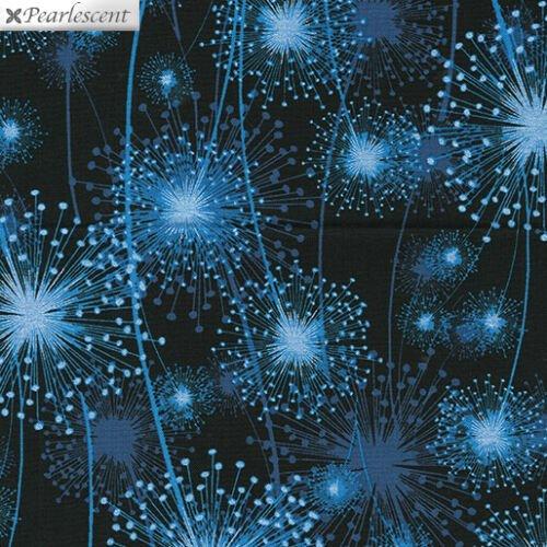 Kanvas - Pearl Reflections 8459P 55 Dandelion Fields Blue/Black