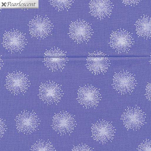 Kanvas - Pearl Reflections 8462P 66 Floating Dandelion - Purple/Lilac
