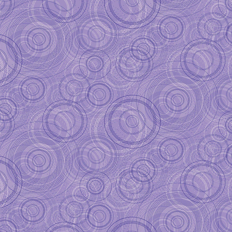 Kanvas - Pearl Reflections 8464P 06 Beaded Circle - Light Purple