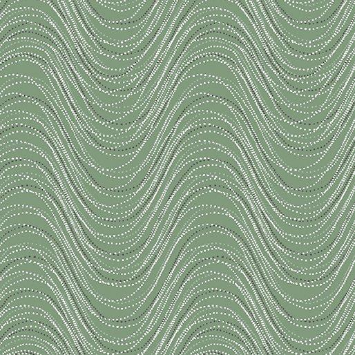 Benartex - Essence of Pearl | Wind Wave Sage 8728P 40