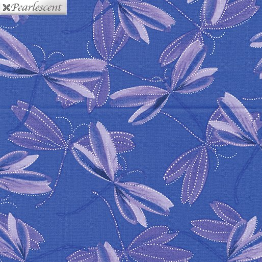 Kanvas - Pearl Reflections 8732P 62 Dragonfly Dream - Iris Purple