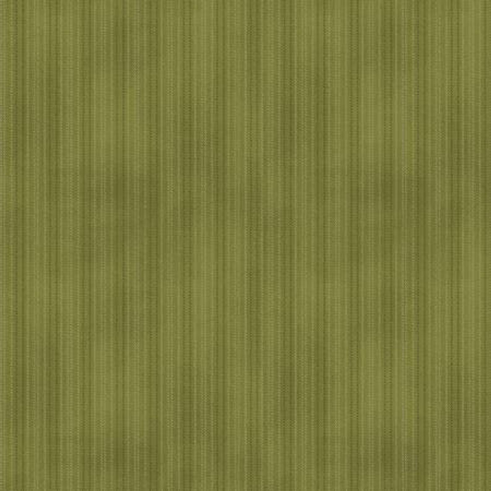 Another Moose Is Loose - 9616 44  Wool Look Stripe Green by Benartex