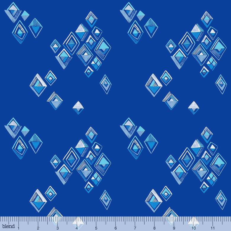 Arctic Playground by Katy Tanis for Blend | 124.106.03.1 Blue Diamonds