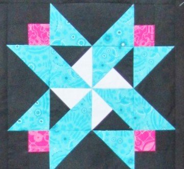 Block of the Month:  Kit for Month 3 of 6