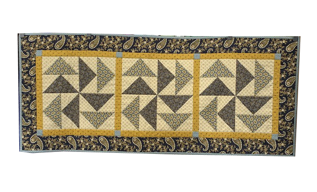 Table Runner For Sale:  Flying Geese with Traditional / Reproduction Fabrics