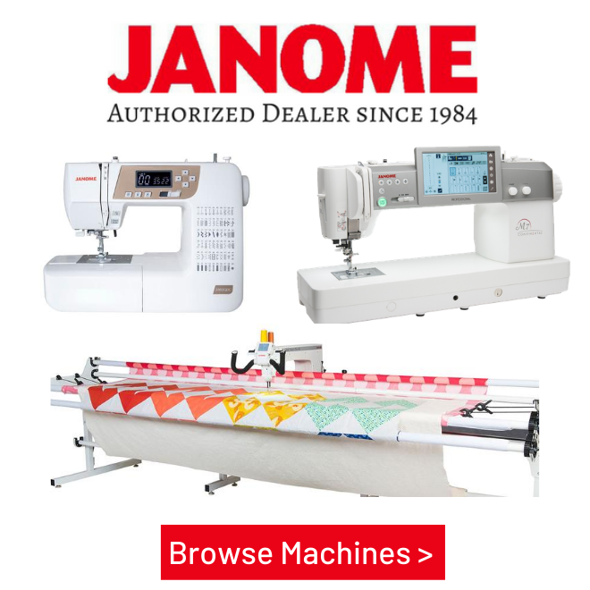 Janome Sewing and Quilting Machines, Longarm Quilters, Sergers, Janome Accessories