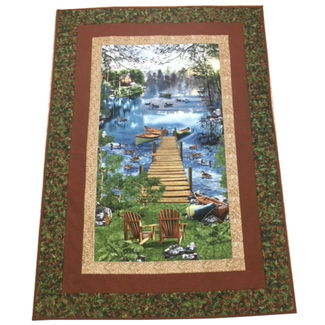 Quilt for Sale: Cabin Life